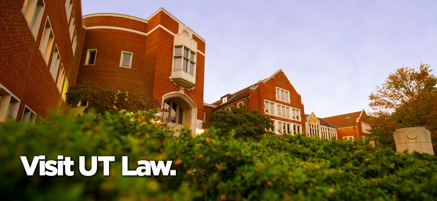 Admissions: Visit UT Law.