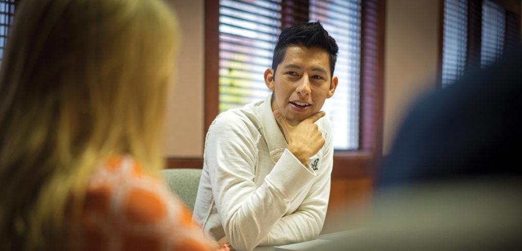 Student Juan Quevedo