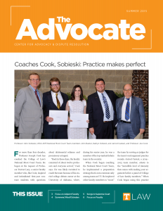 The Advocate, Summer 2015