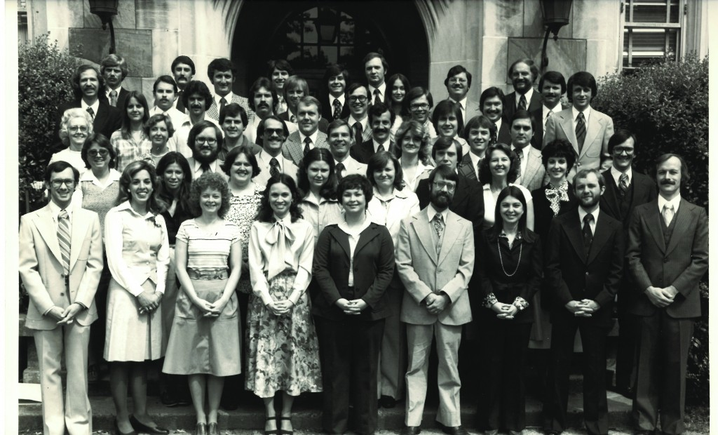 The entering class of 1976