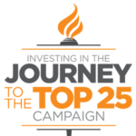 Journey to the Top 25 Logo