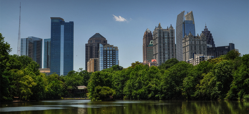 Atlanta Skyline (Lake)