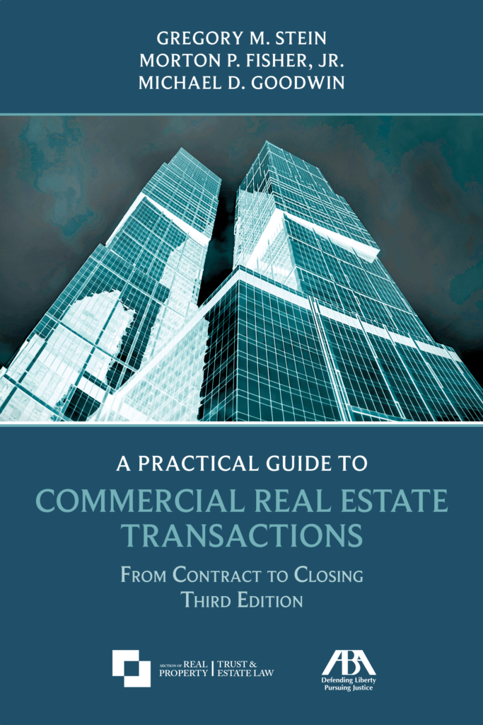 Commercial Real Estate Transactions Third Edition Cover