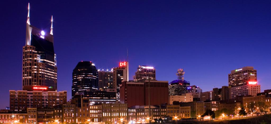 Nashville at Night (Creative Commons)